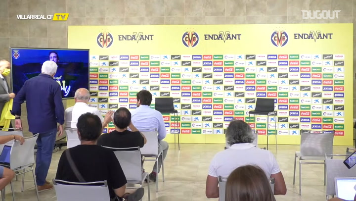 Unai Emery unveiled as new Villarreal manager
