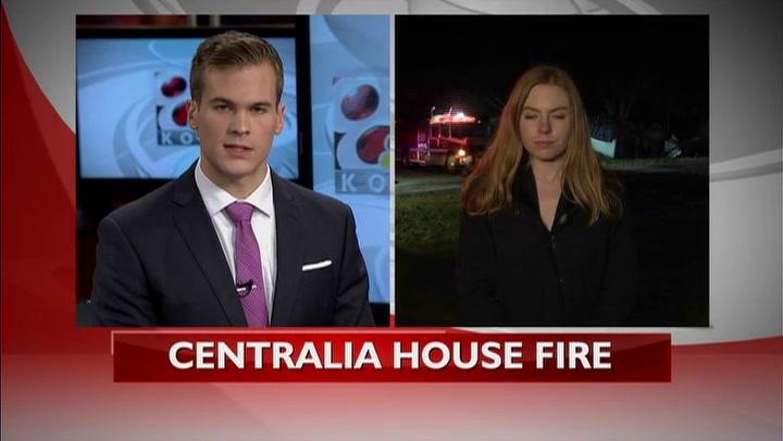 Centralia home fire