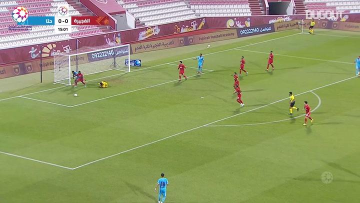 Highlights: Fujairah 1-0 Hatta