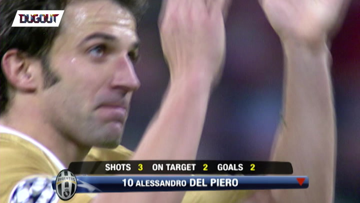 Del Piero brings down the Bernabeu! ⚽️