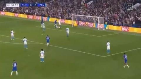 Chelsea 1-0 Zenit (Champions League )