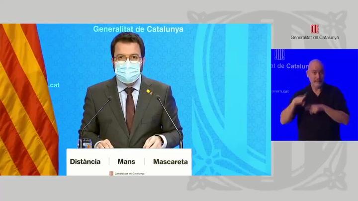 Catalunya pide al Gobierno el estado de alarma e impondrá el toque de queda