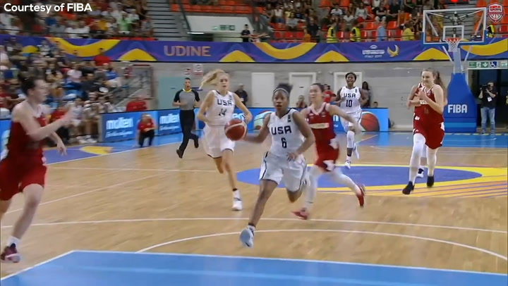 USA Highlights: Tyasha Harris