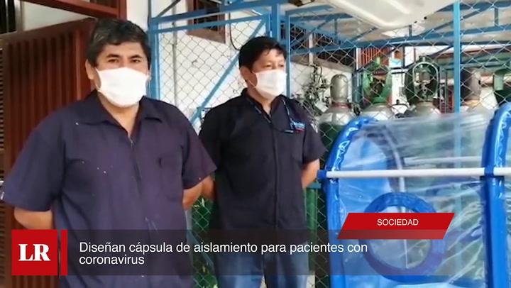 Diseñan cápsula de aislamiento para pacientes con coronavirus