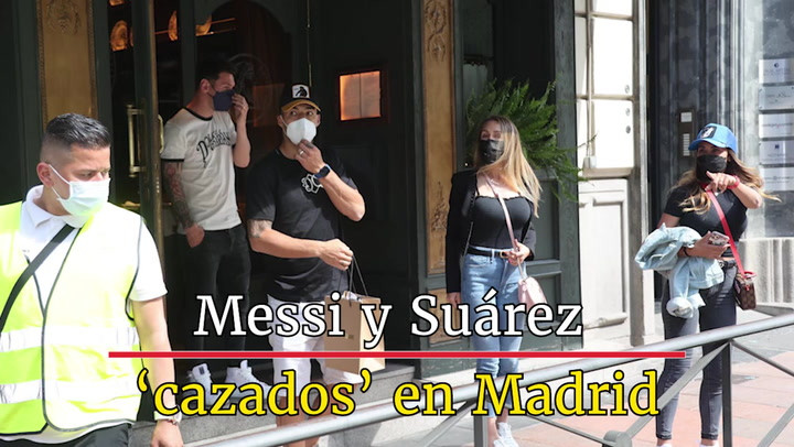 Escapada de Leo Messi a Madrid para comer con Luis Suárez