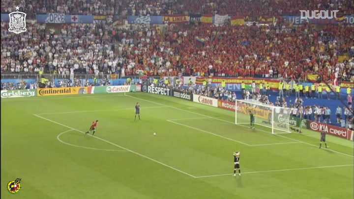Cesc Fàbregas's historic penalty goal for Spain