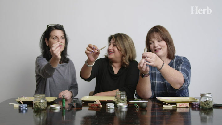 Moms Roll Joints For The First Time Thumbnail