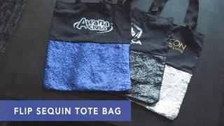 Flip Sequin Tote Bag