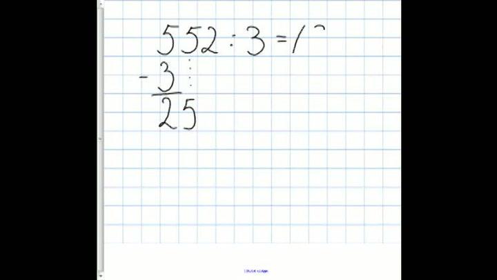 Matte: Hvordan få til divisjon med hele tall