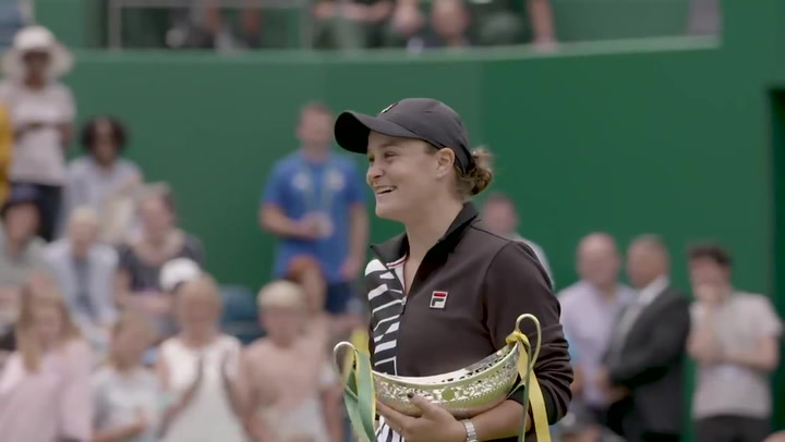 Ashleigh Barty, segunda australiana número uno de la historia tras ganar en Birmingham