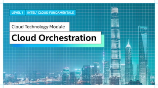 Chapter 1: Cloud Orchestration