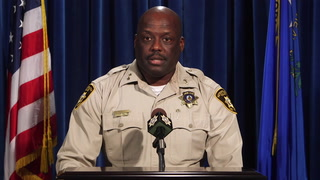 Las Vegas police addresses officer-involved shooting