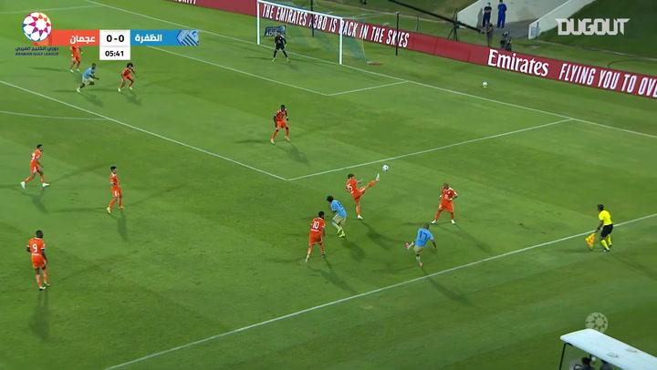 Highlights: Al-Dhafra 4-1 Ajman