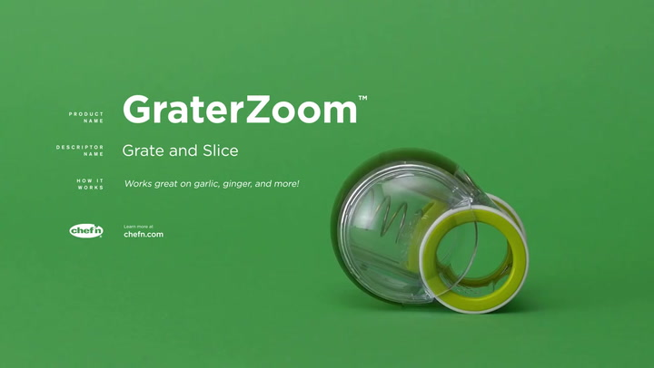 Preview image of Chef'n GraterZoom Grater & Slicer video