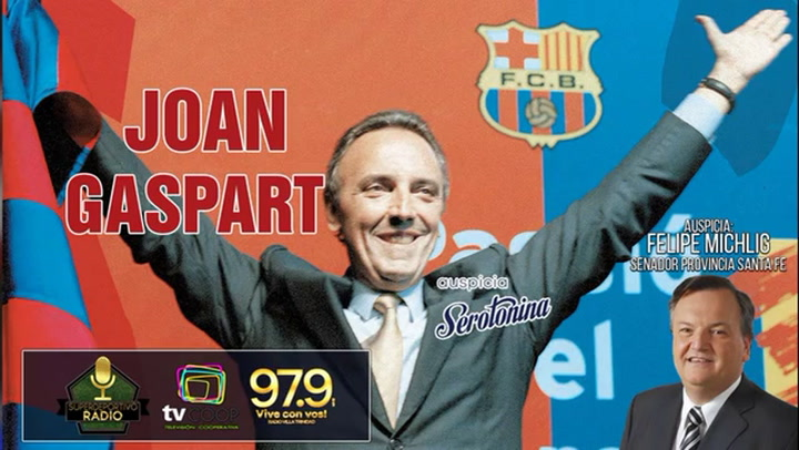 Entrevista a Joan Gaspart en Super Deportivo Radio de Argentina