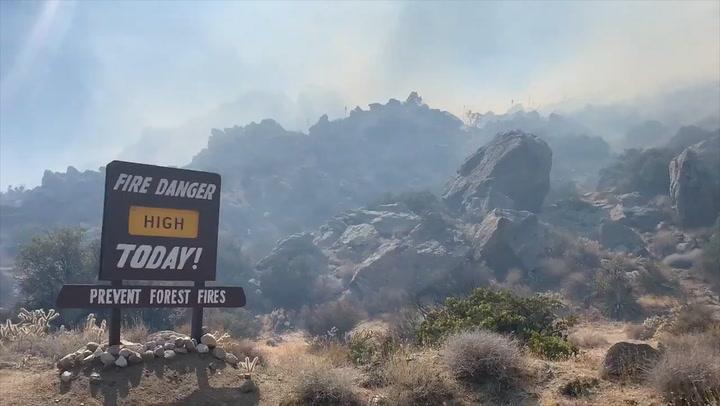 Wildfires ravage a drought-stricken Southwest
