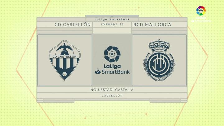 LaLiga SmartBank (J35): Resumen y goles Castellón 1-0 Mallorca