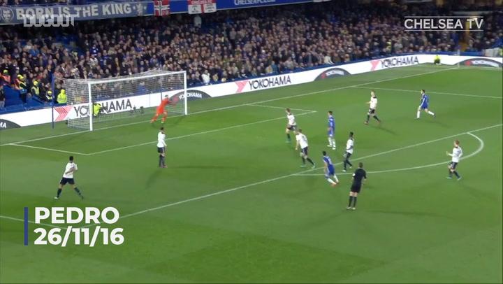 Chelsea's top five goals of 2016-17