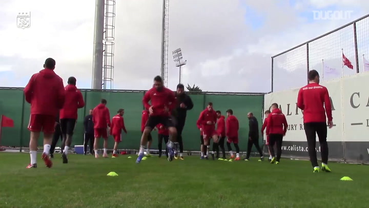 Sivasspor's Second Day of Mid-Season Camp