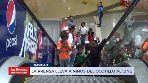 LA PRENSA lleva a los niños de El Ocotillo al cine