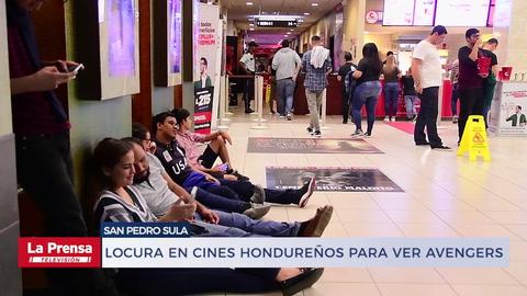 Locura en cines hondureños para ver Avengers: Endgame