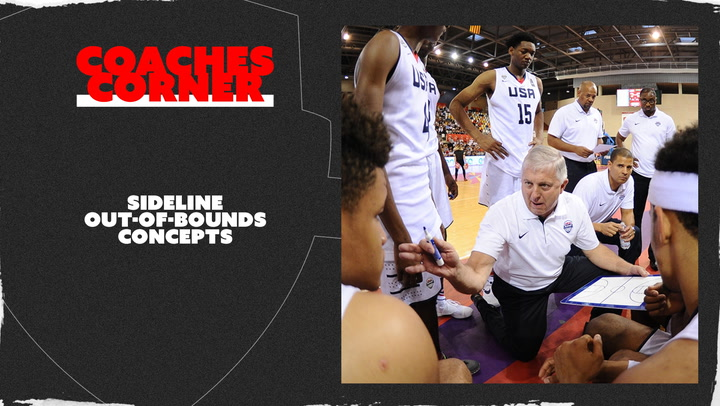 Coaches Corner: Sideline Out Of Bounds Play