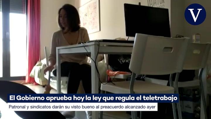 Gobierno y agentes sociales logran un preacuerdo sobre el teletrabajo en el sector privado