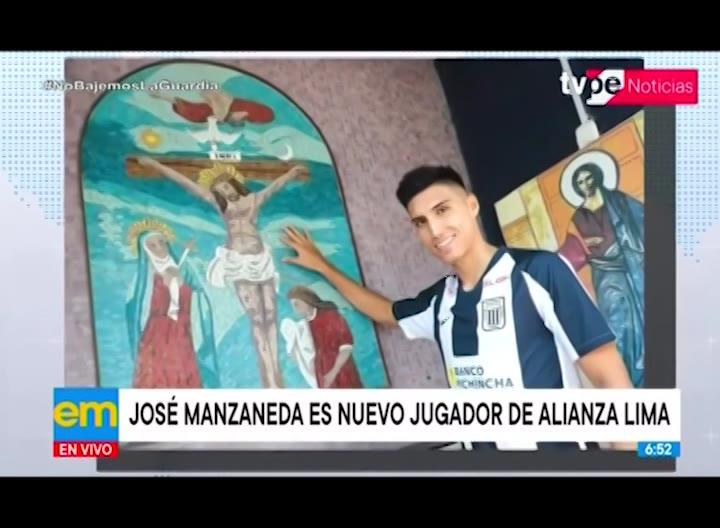 Alianza Lima: José Manzaneda se convierte en refuerzo para temporada 2021