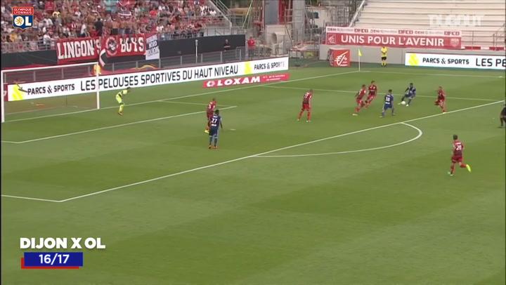 Olympique Lyonnais' best goals vs Dijon