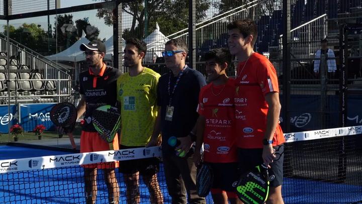 Resumen del primer turno de los 1/16 de final del México Padel Open