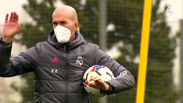 Zidane vuelve, pero sigue sin poder contar con Ramos, Lucas y Carvajal