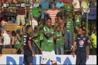 ¿Era falta? El polémico gol de Carlos Discua ante Motagua