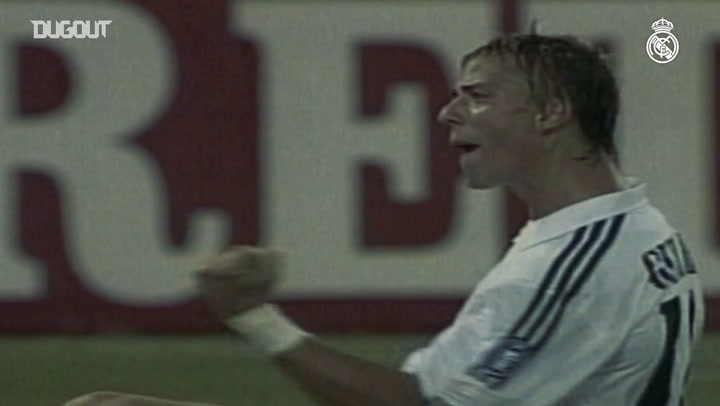 The best of Guti at Real Madrid