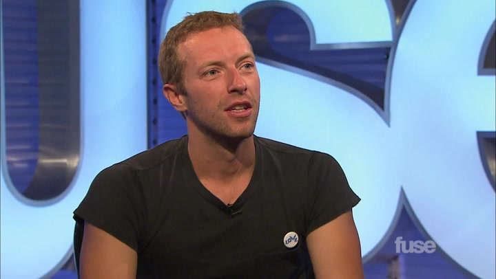 Interviews: Chris Martin of Coldplay on Working with Rihanna