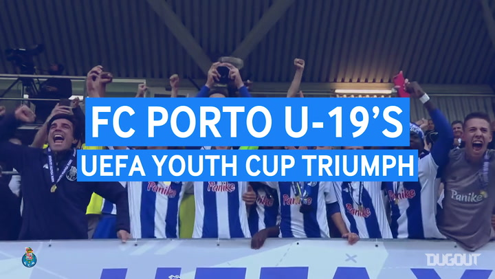 FC Porto U19 UEFA Youth League Triumph