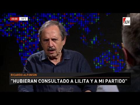 Alfonsín: Si se bolsonariza la seguridad, vamos a agarrarnos la cabeza