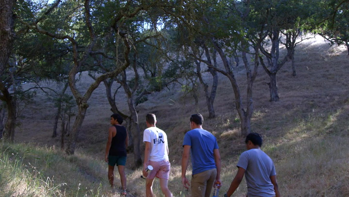 Blue Devils' Javier Astorga & Friends Discuss Paths On Hiking Adventure