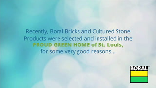 Brick and stone deliver durability and indoor air quality for Proud Green Home of St Louis