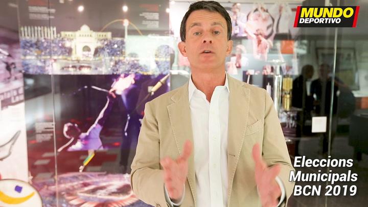 Manuel Valls, candidato por Ciutadans a la alcaldia de Barcelona, nos explica su programa deportivo
