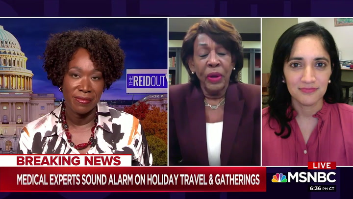 Maxine Waters: 'The Door Is Closed' on Trump -'It's Over'