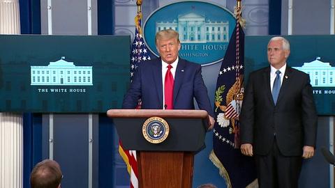 Trump acepta dejar la Casa Blanca de confirmarse la victoria de Biden