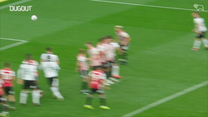 Mason Mount's inch-perfect free-kick against Brentford