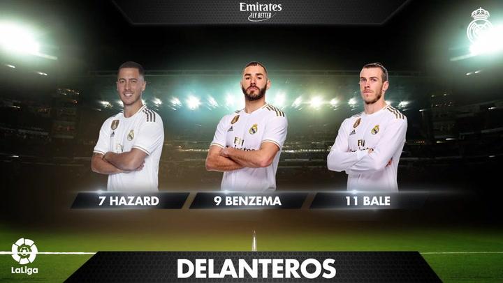 Los 19 convocados del Real Madrid para el partido ante la Real Sociedad