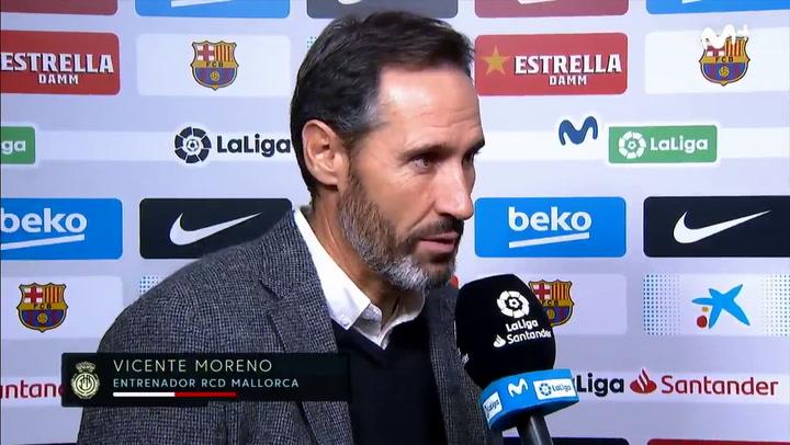 Vicente Moreno habla de su enfrentamiento en el campo con Messi