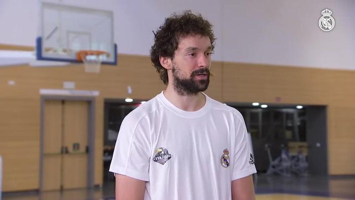 Las sensaciones del Real Madrid de baloncesto antes de afrontar la semifinal de la Final Four