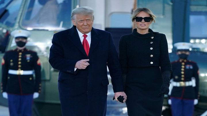 Donald Trump y su esposa se vacunaron de manera clandestina contra la COVID-19 en enero del 2021
