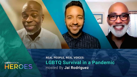 Jai Rodriguez hosts REAL PEOPLE, REAL VOICES: LGBTQ Surviving in a Pandemic