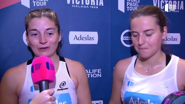 Resumen cuartos de final femeninos (2º turno) - Cervezas Victoria Marbella Master.mp4
