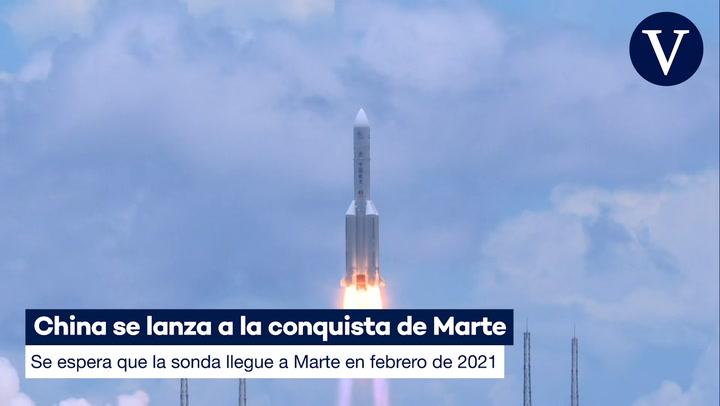 China se lanza a la conquista de Marte