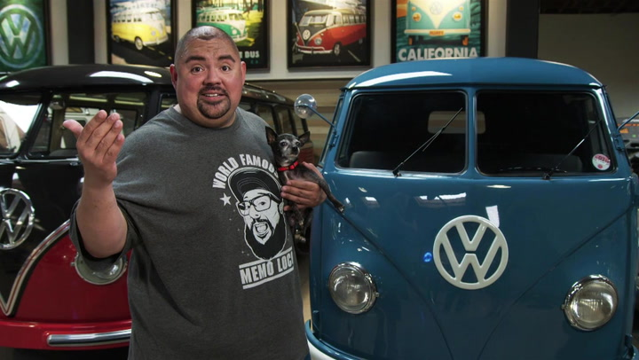 Fluffy At Home Ep. 2: Gabriel Iglesias Shows Off His Vintage VW Bus Collection